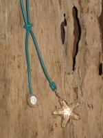 Pearl and Swarovski sea star